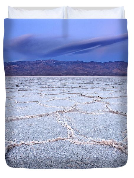 Badwater Dawn Duvet Cover