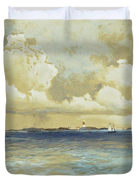 Bahama Island Light Duvet Cover