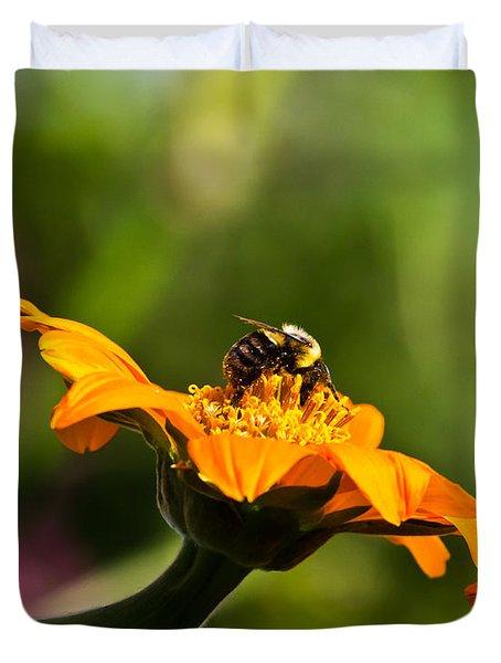 Balancing Bumblebee Duvet Cover