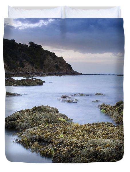 Balcombe Point Mount Martha Duvet Cover by Tim Hester