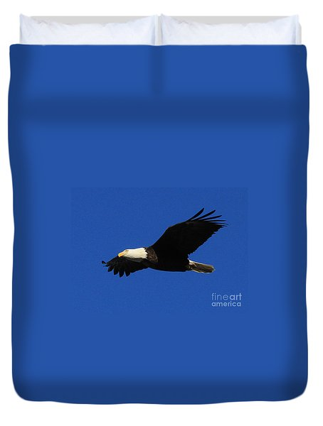 Bald Eagle Lock 14 Duvet Cover