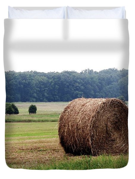 Bales In Solebury Duvet Cover