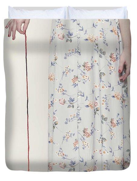 Ball Of Wool Duvet Cover by Joana Kruse