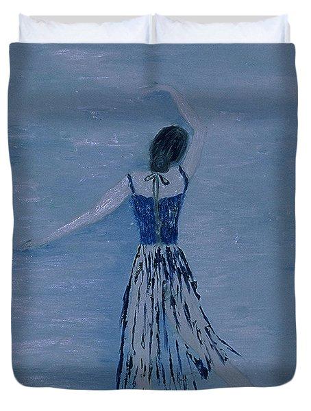 Ballerina Duvet Cover by Inge Lewis