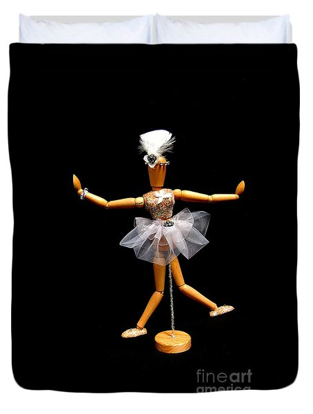 Ballet Act 2 Duvet Cover by Tamyra Crossley