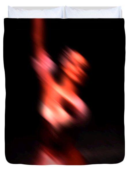 Ballet Blur 4 Duvet Cover