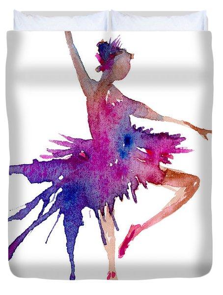 Ballet Retire Devant Duvet Cover