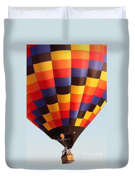 Balloon-color-7277 Duvet Cover by Gary Gingrich Galleries