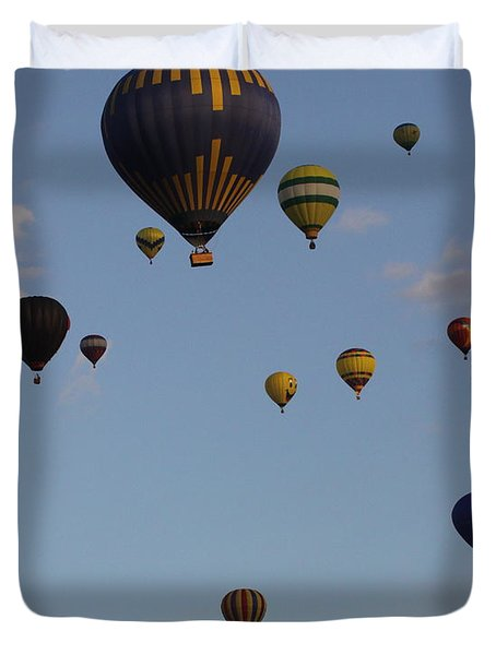 Balloon Festival Duvet Cover