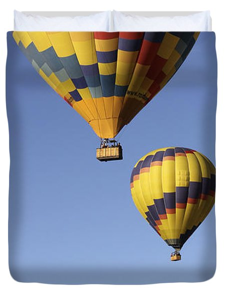 Balloon Fiesta 2012 Duvet Cover