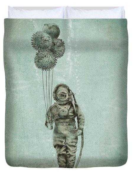 Balloon Fish Duvet Cover