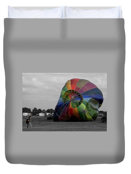 Balloon Fun Duvet Cover