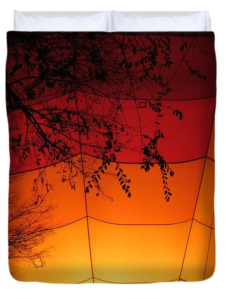 Balloon Glow Duvet Cover