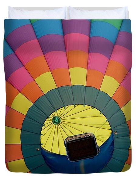 Balloon Lift-off  Duvet Cover