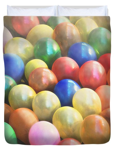 Balloons Duvet Cover by Cindy Garber Iverson