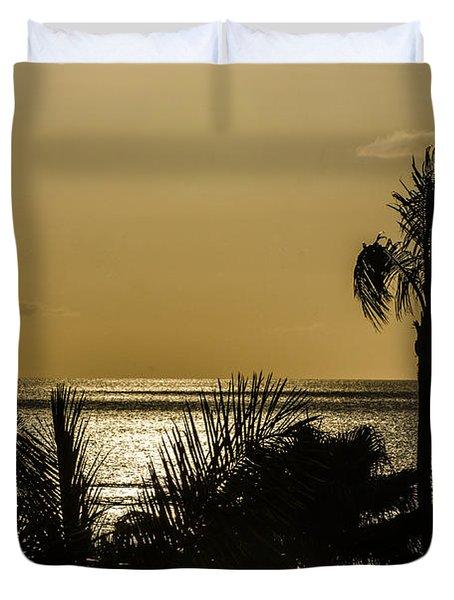 Balmy Beach Duvet Cover