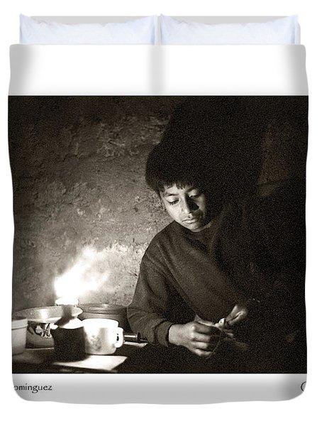 Baltazar Reading Duvet Cover