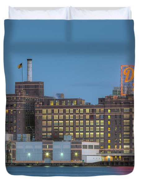 Baltimore Domino Sugars Plant I Duvet Cover