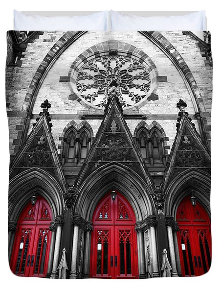 Baltimore Mount Vernon United Methodist Church Duvet Cover