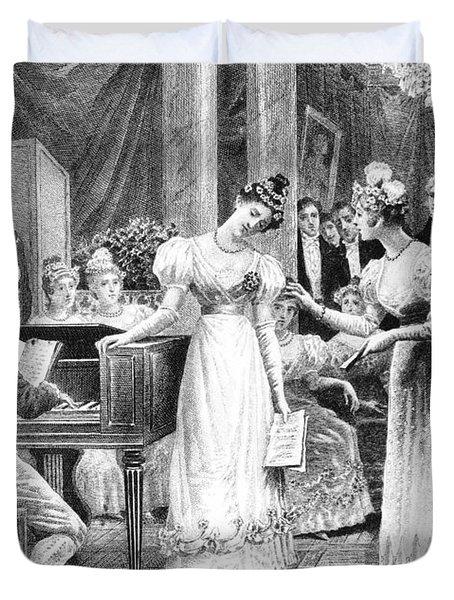 Balzac: A Woman Of Thirty Duvet Cover by Granger
