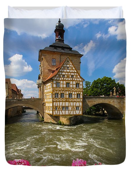 Bamberg Bridge Duvet Cover