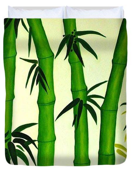 Bamboos Duvet Cover