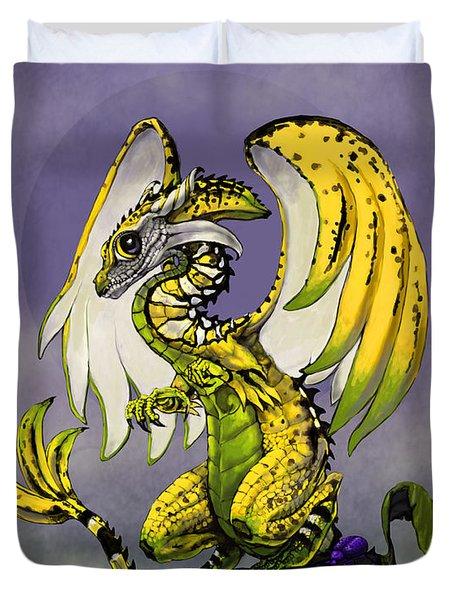 Banana Dragon Duvet Cover