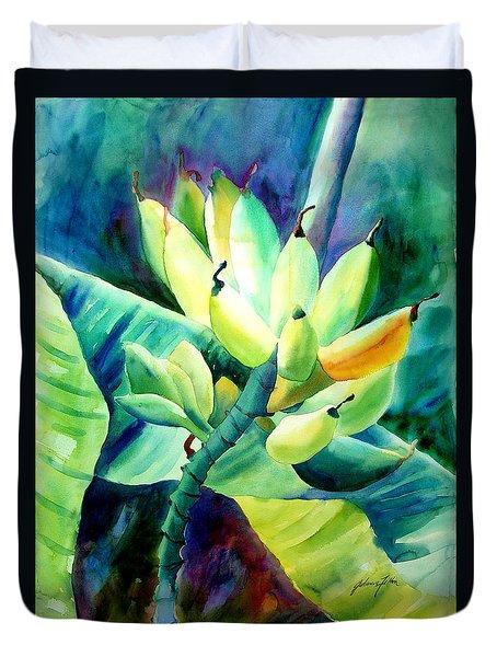 Bananas 6-12-06 Julianne Felton Duvet Cover