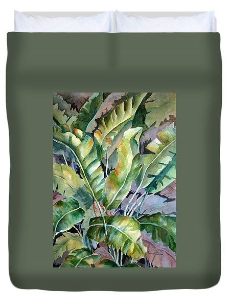Bananas Gone Wilde  Duvet Cover