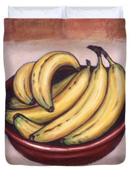 Bananas Duvet Cover by Linda Mears
