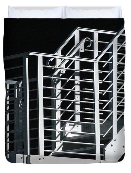 Bank Escape Duvet Cover by Joseph Yarbrough