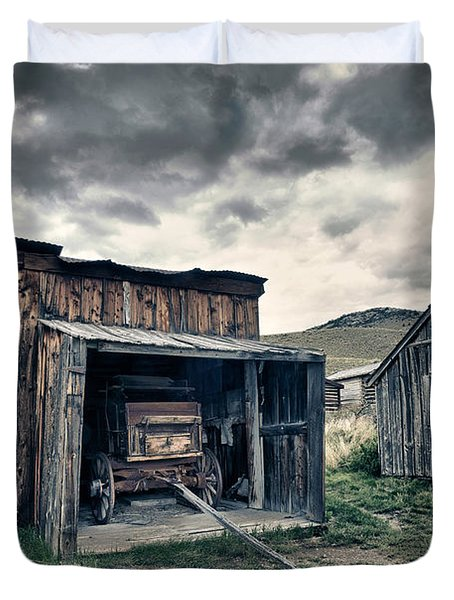 Bannack Carriage House Duvet Cover