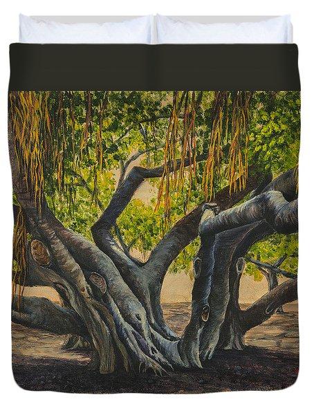 Banyan Tree Maui Duvet Cover