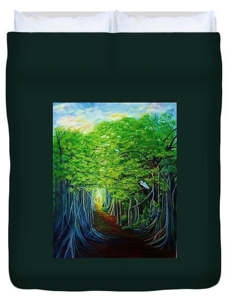 Banyan Walk Duvet Cover