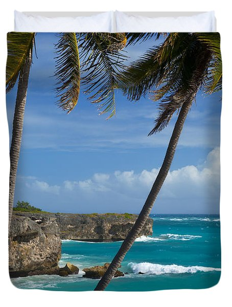 Barbados Duvet Cover by Brian Jannsen