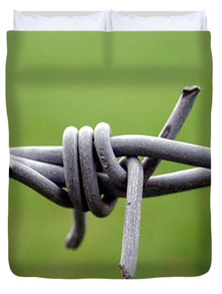Barbed Duvet Cover