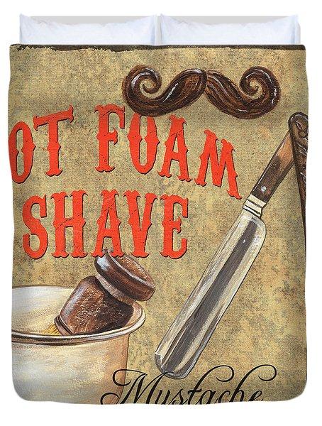 Barber Shoppe 2 Duvet Cover