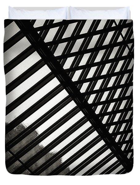 Barbican Grids Duvet Cover