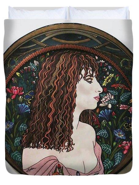 Barbra's Garden Duvet Cover