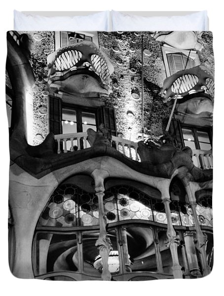 Barcelona - Casa Batllo Duvet Cover