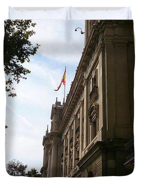 Barcelona Street Duvet Cover