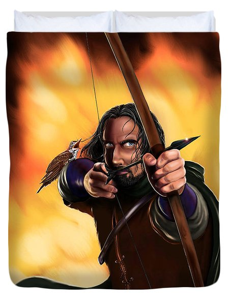 Bard The Bowman Duvet Cover