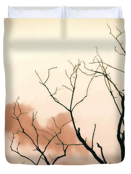 Bare Limbs Duvet Cover