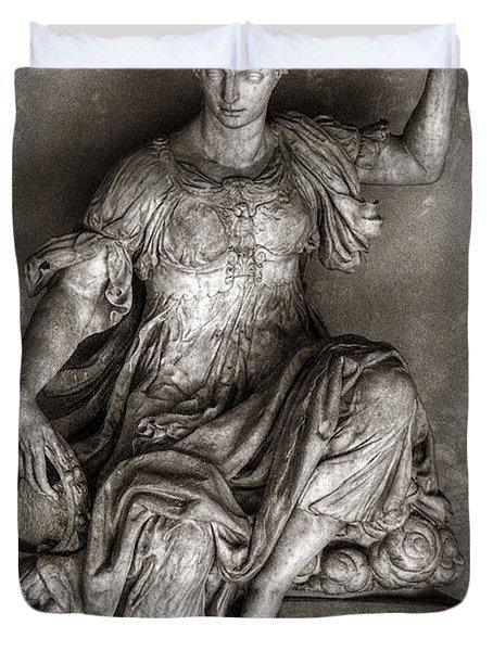 Bargello Sculpture Duvet Cover