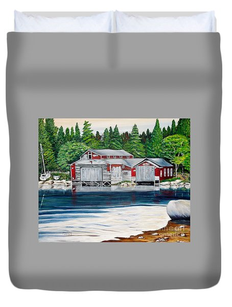 Barkhouse Boatshed Duvet Cover