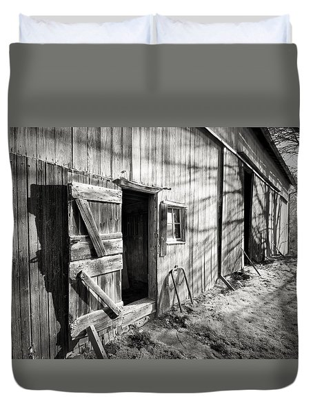 Barn Doors Duvet Cover
