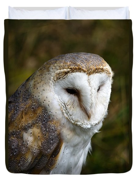 Barn Owl Duvet Cover by Scott Carruthers