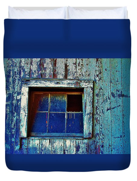 Barn Window 1 Duvet Cover