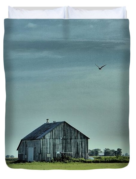 The Flight Home Duvet Cover