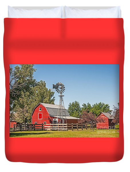 Barnyard Duvet Cover by Sue Smith